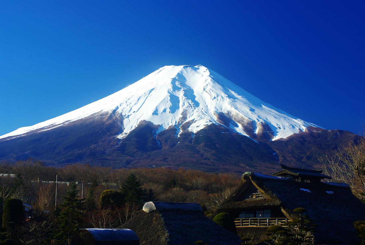 Mt Fuji Tokyo 2020 Olympics