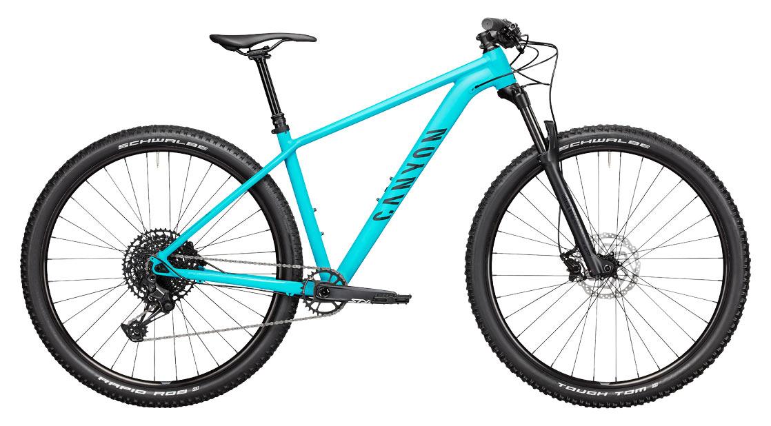 2021 canyon grand canyon hardtail mountain bike studio photo