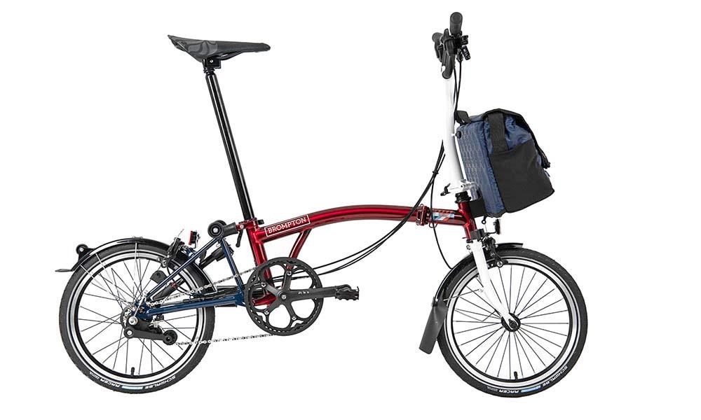 Brompton x Team GB folding bike, Tokyo 2020 Olympic limited edition complete bike