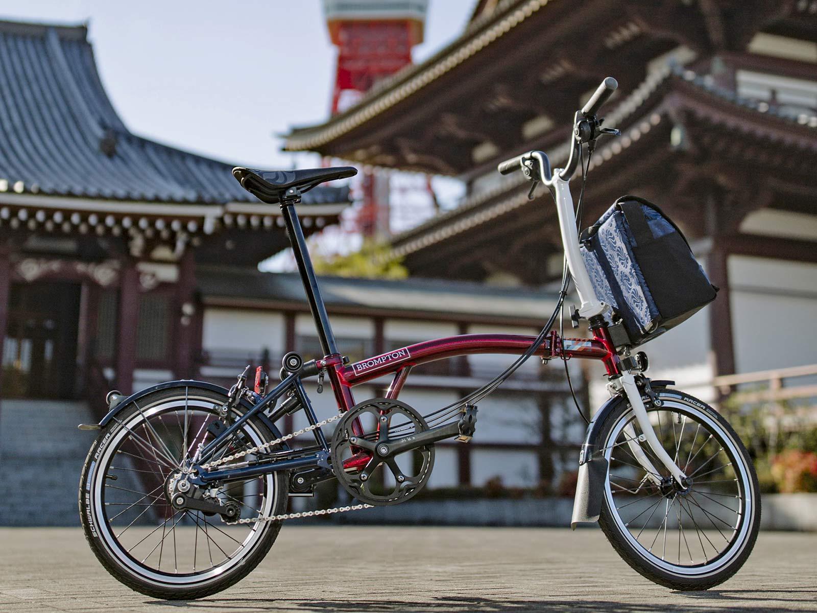 Brompton x Team GB folding bike, Tokyo 2020 Olympic limited edition, Japan