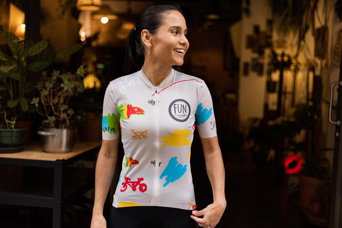 FUN jersey by esteban Chaves The Service Course