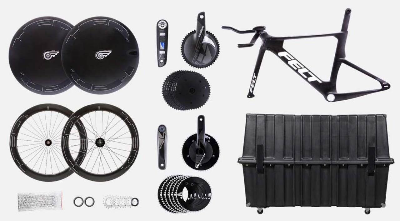 Tokyo Olympics 2021 Felt traveling bike package