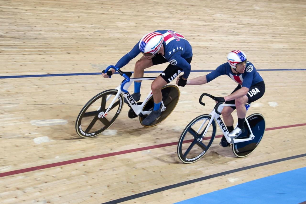Tokyo Olympics 2021 track Felt Madison