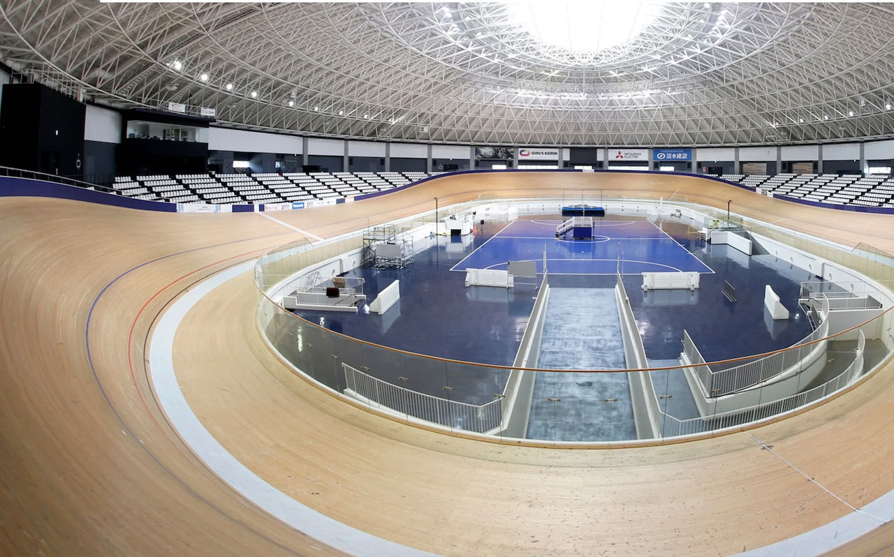 Izu Velodrome Tokyo Olympics 2021