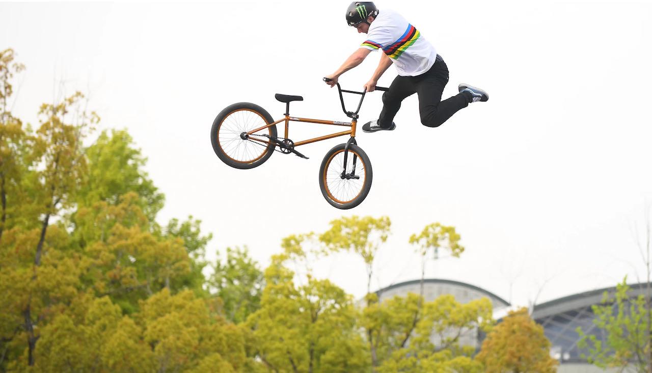 Justin Dowell BMX Freestyle