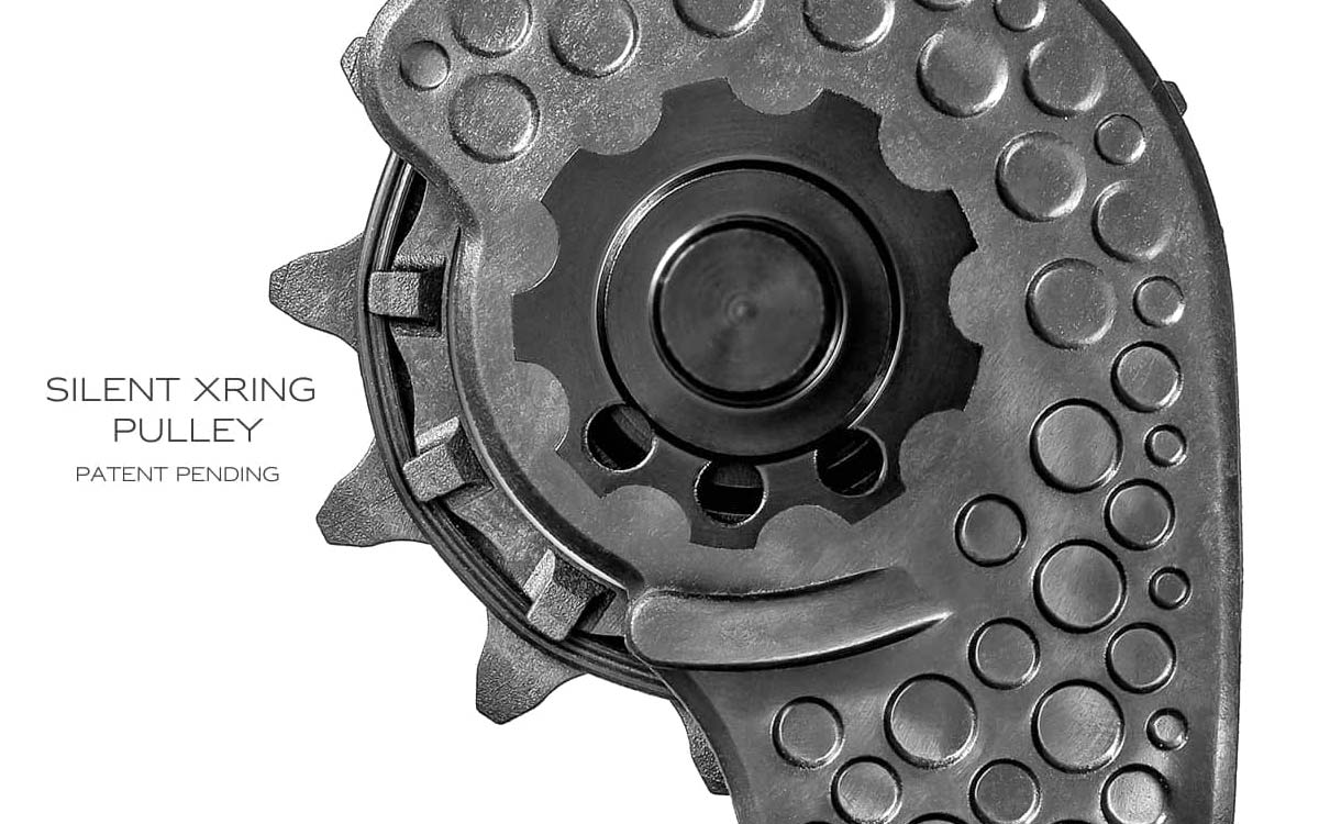 Absolute Black carbon-ceramic Hollow Cage low friction upgrade, Xring silent detail
