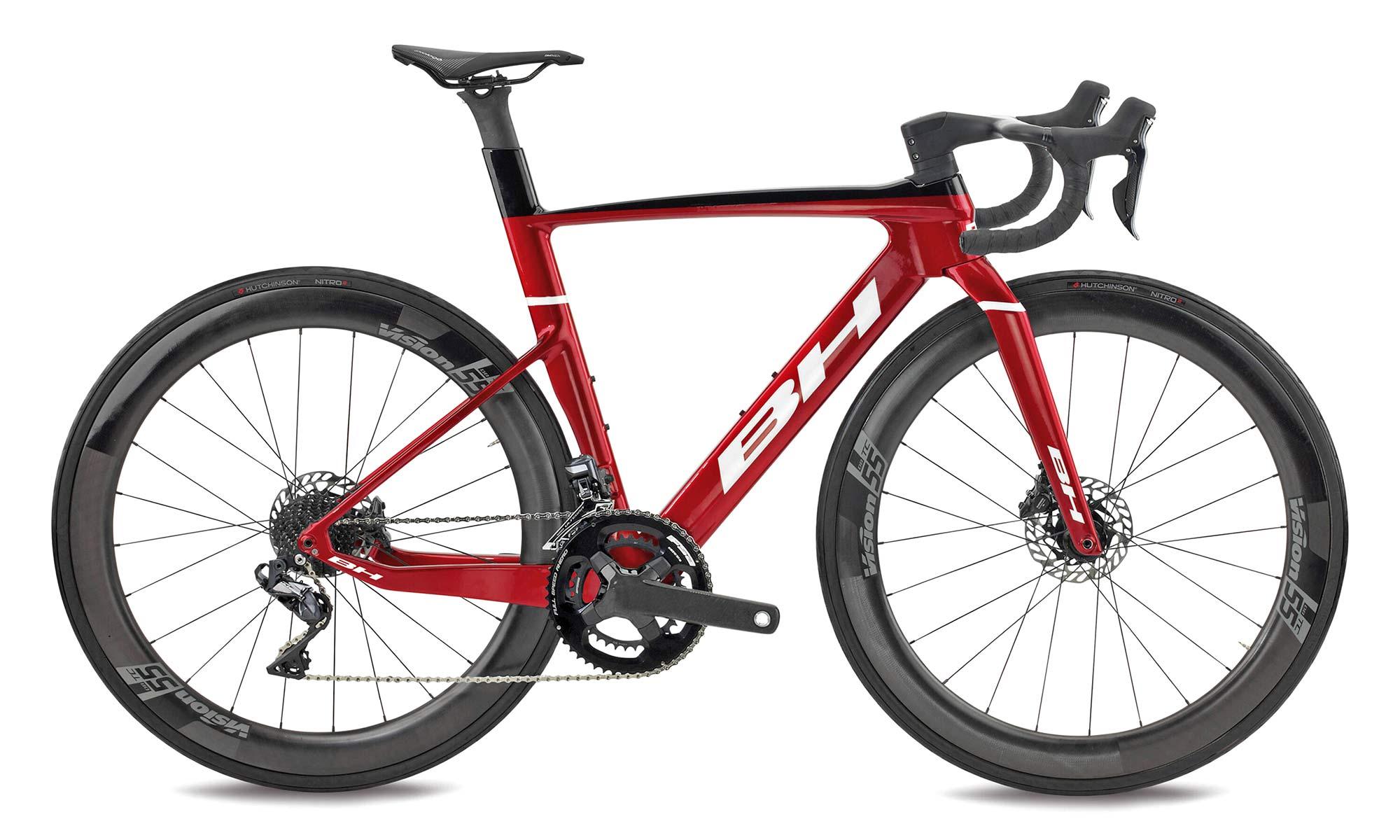 2022 BH Aerolight lightweight aero carbon all-rounder road bike,6.5 complete