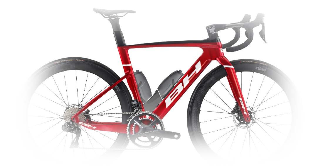 2022 BH Aerolight lightweight aero carbon all-rounder road bike,bottles toolbox