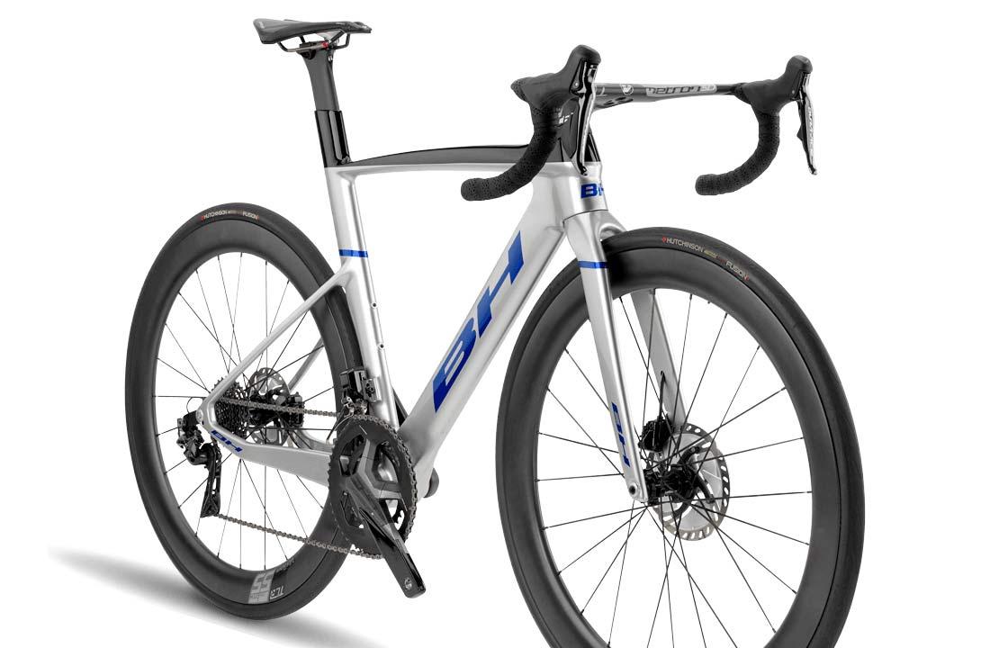 2022 BH Aerolight lightweight aero carbon all-rounder road bike,angled