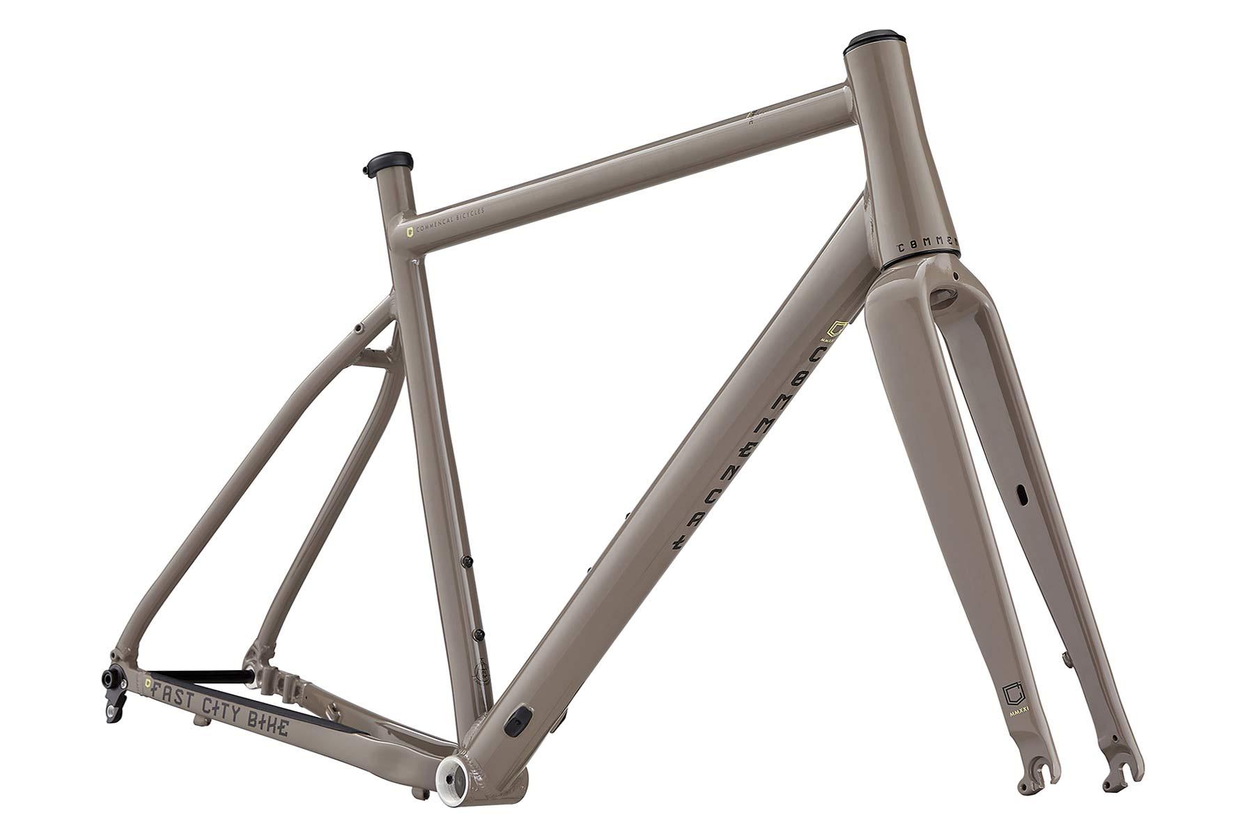 Commencal FCB Gravel project frameset, frame kit option, custom gravel bike build,Dirt brown frame