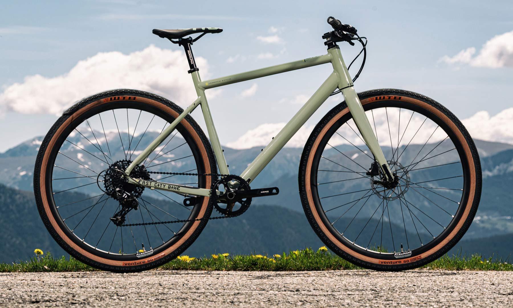 Commencal FCB Gravel project frameset, frame kit option, custom gravel bike build,flat bar