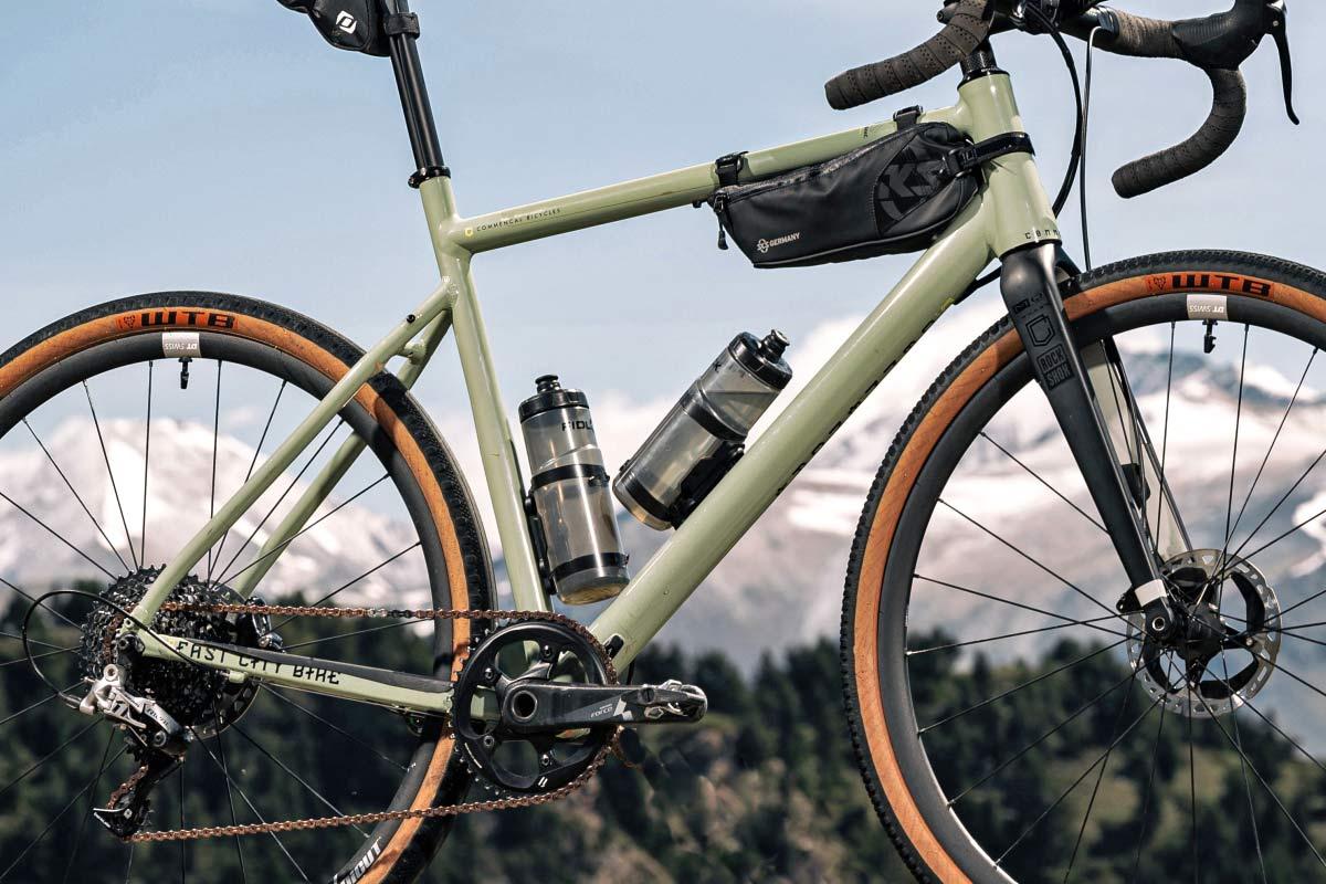 Commencal FCB Gravel project frameset, frame kit option, custom gravel bike build,frme detail