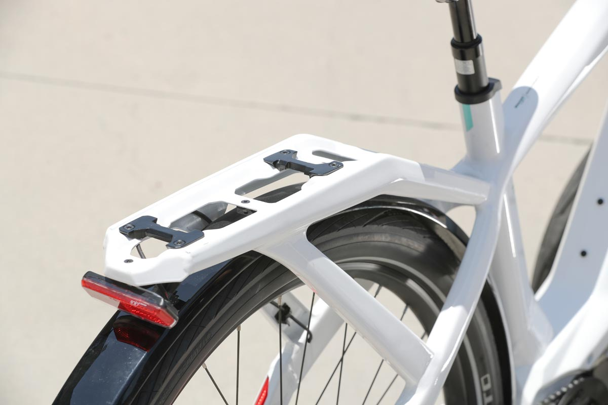 Bianchi integrated rear rack