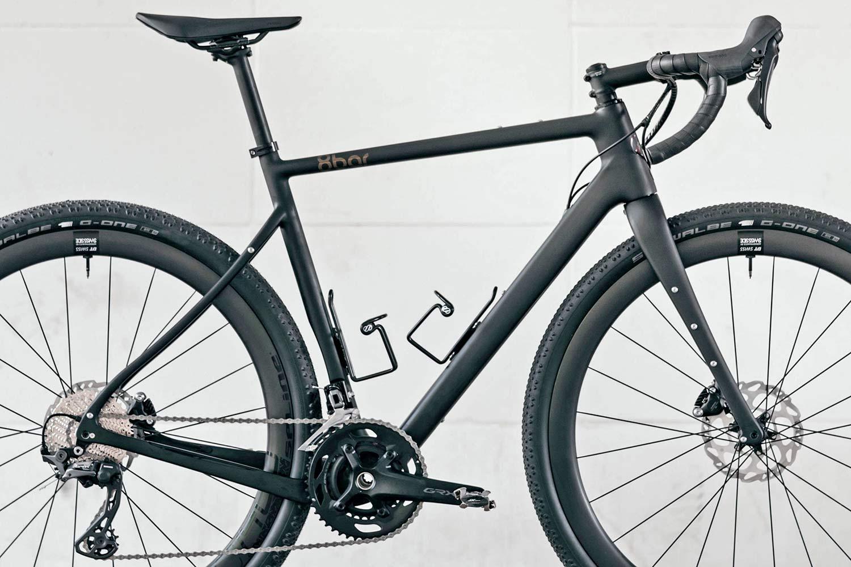 8bar Grunewald Carbon v2 affordable bikepacking adventure gravel bike, photo by Stefan Haehnel,frameset detail