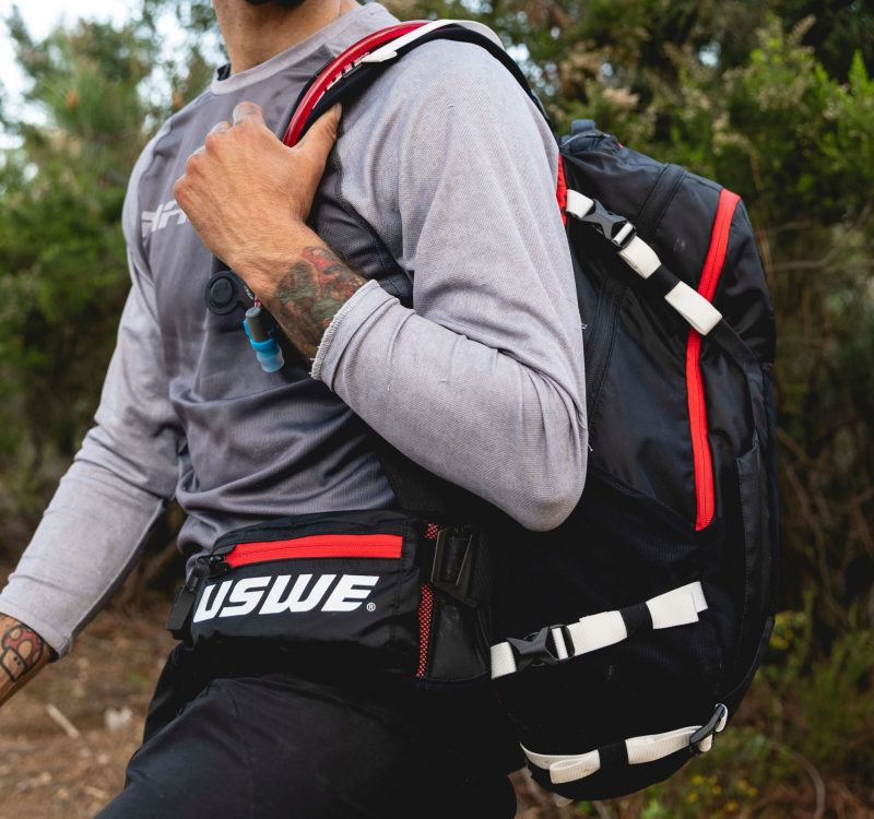 uswe flow mountain bike pack