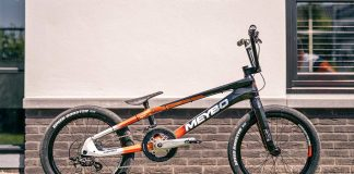 Olympic BMX prototype 2-speed derailleur gears Meybo bike, BMX World Champion Twan van Gendt, complete