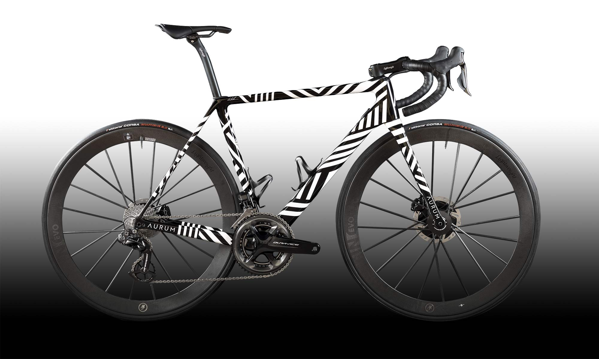 Aurum Zevra ultra-limited edition premium lightweight carbon Magma disc brake road bike by Basso & Contador, 1 of 21