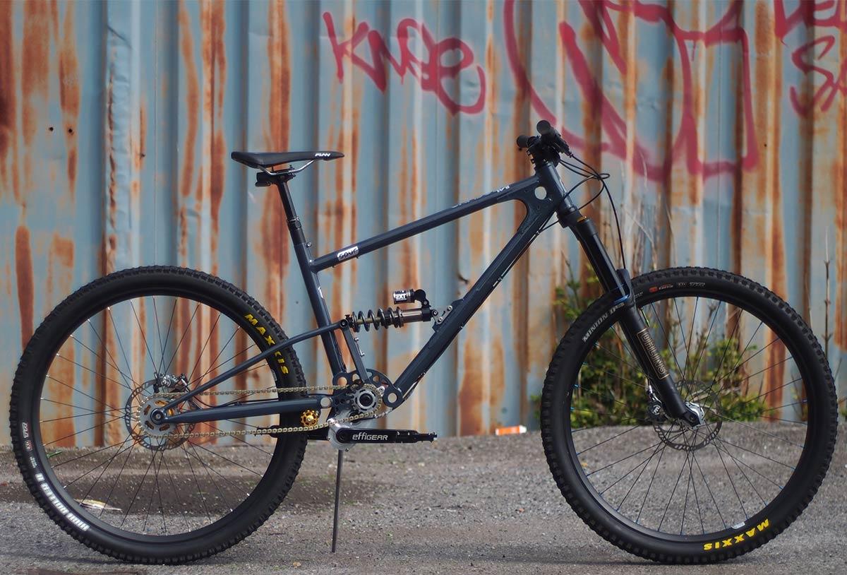 mark 1 starling spur high pivot effigear gearbox mountain bike