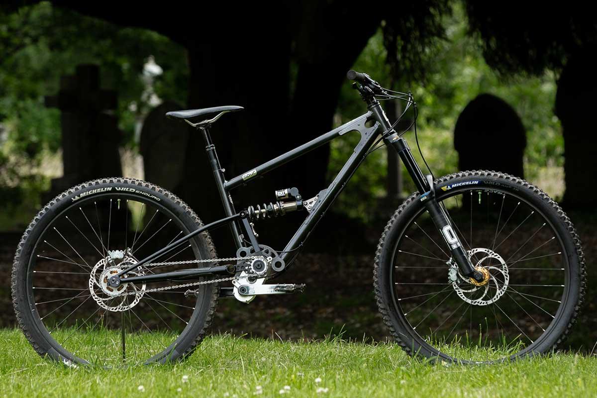 starling spur 29er steel high pivot gearbox mountain bike 170mm travel