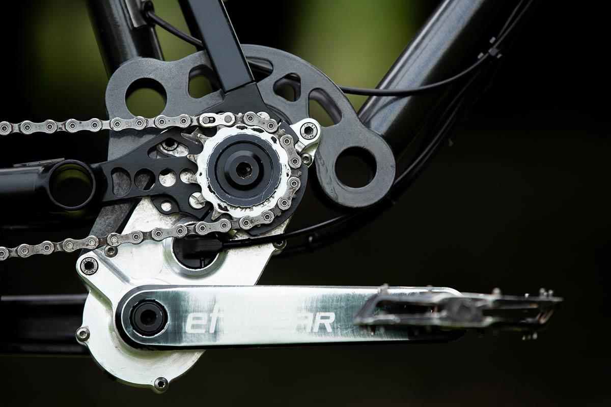 starling spur high pivot effigear gearbox 170mm travel mtb