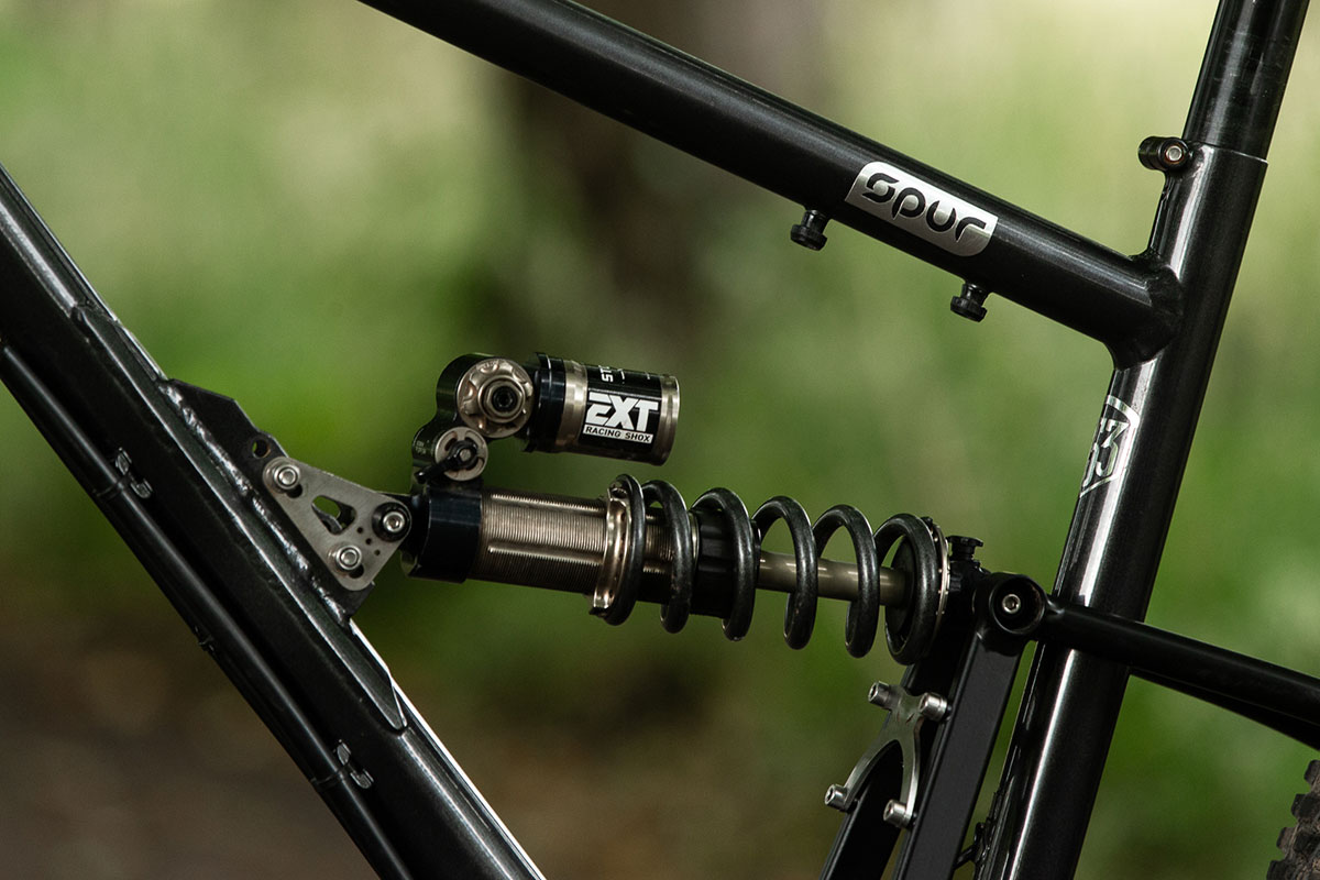 starling cycles spur high single pivot ext storia shock