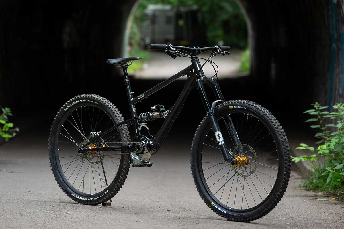 Starling Cycles spur effigear gearbox mountain bike high single pivot