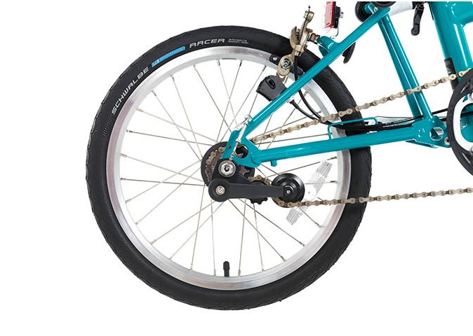 three speed folding bike