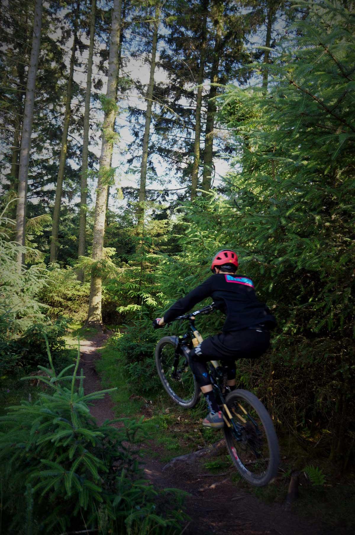 leo frater sending high pivot bamboo mtb earthbound bikes