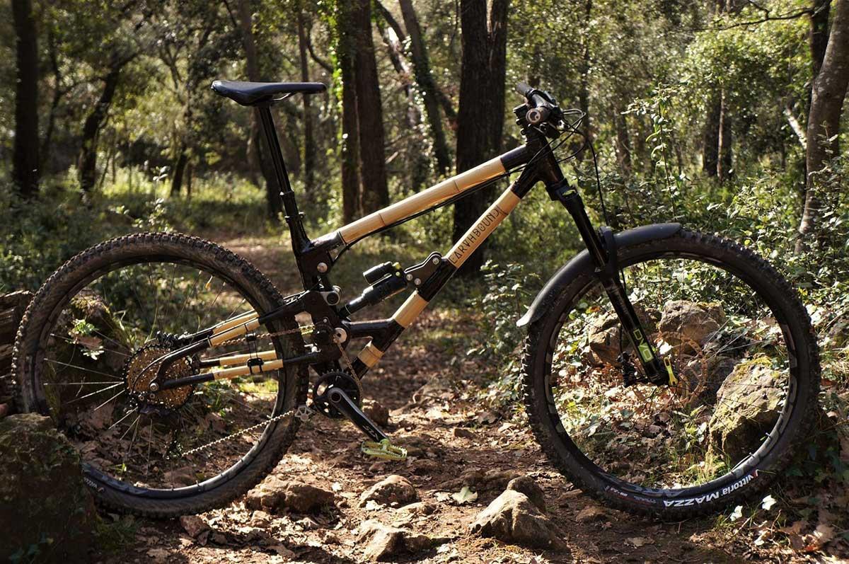 earthbound bikes bambo high pivot full suspension mtb
