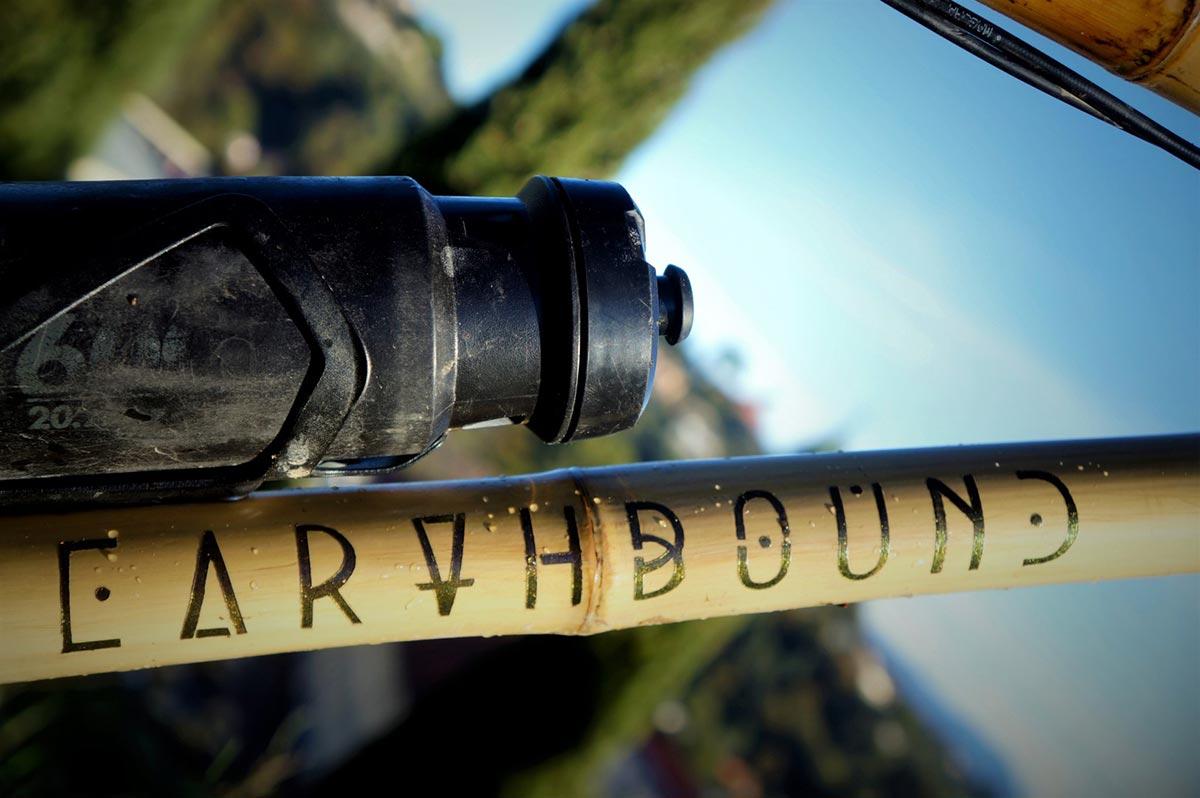 earthbound bamboo bikes hardtail downtube