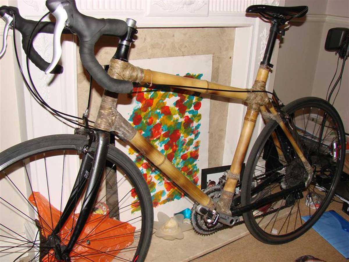 earthbound bamboo road bike jason o'nions original