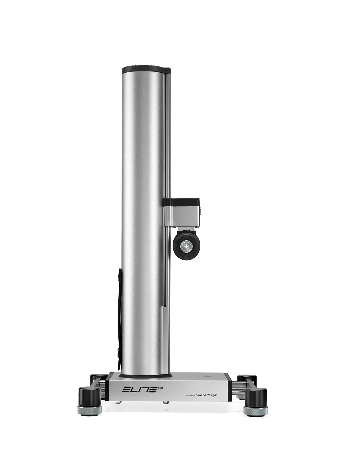 Automatic fork raiser for indoor cycling+