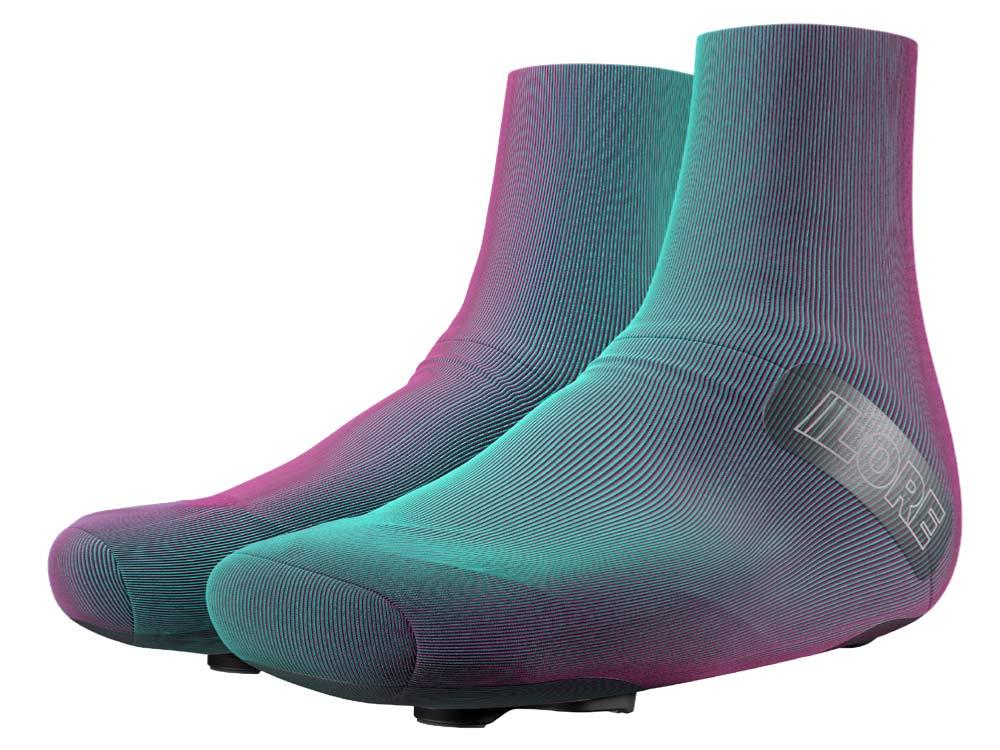 LORE LoreOne custom 3D-printed carbon road cycling shoe,aero covers