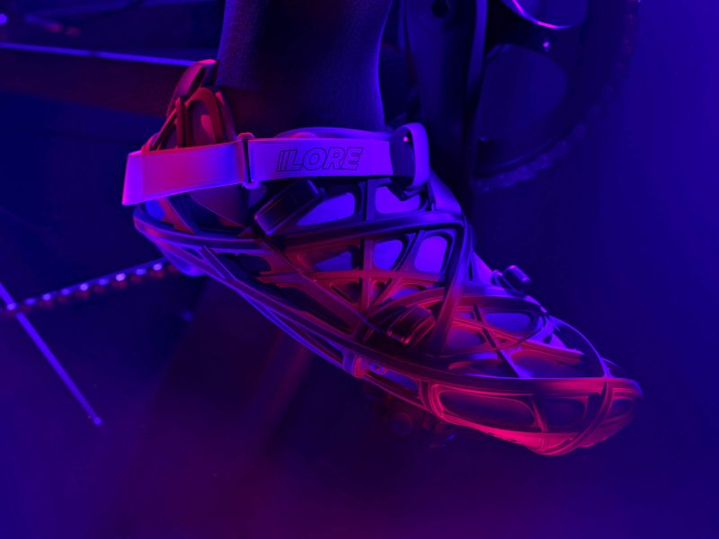 LORE LoreOne custom 3D-printed carbon road cycling shoe,teaser