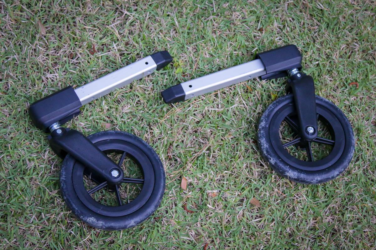 Burley two wheel stroller kit