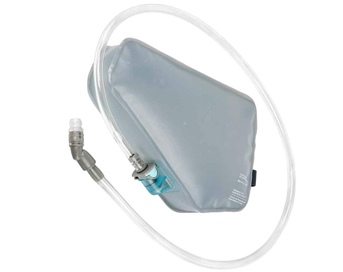 Apidura 1.5L frame Pack Hydration Bladder, Innovation Lab bikepacking frame pack water bag, backside