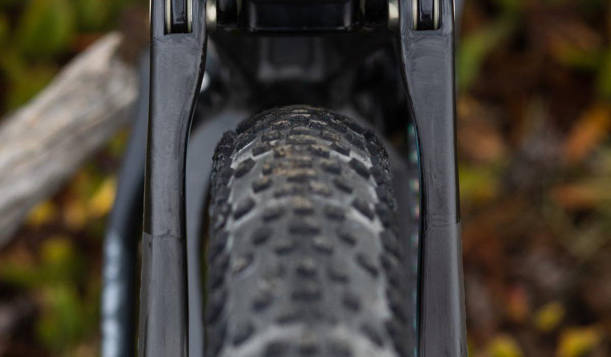 Ibis Exie rear tire clearace