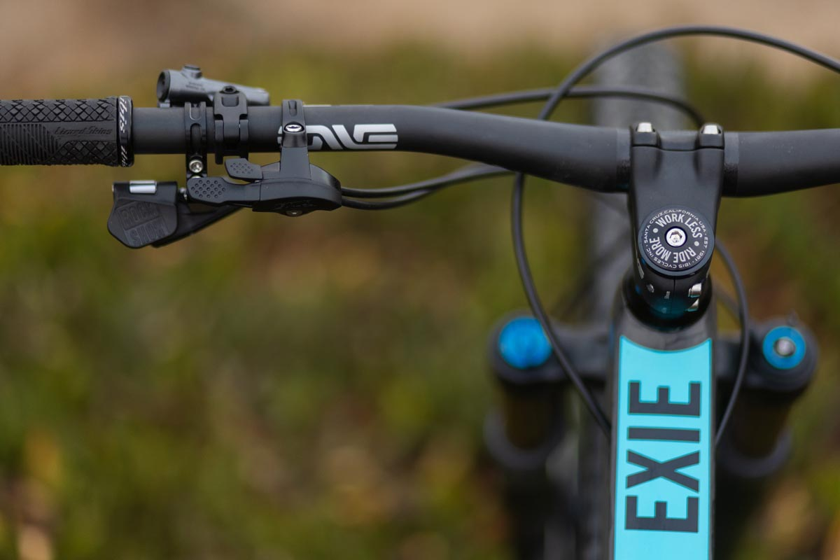 Work Less Ride More headset cap