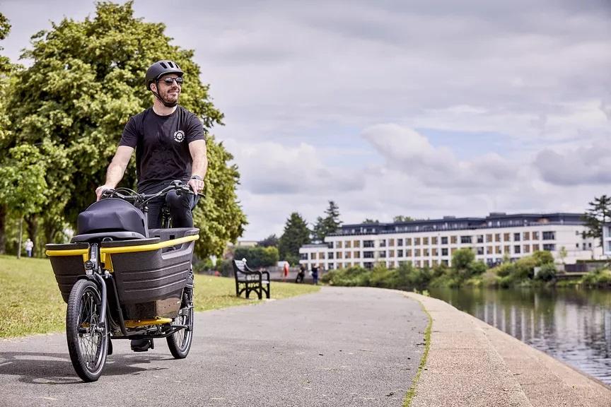 raleigh stride cargo e-bike
