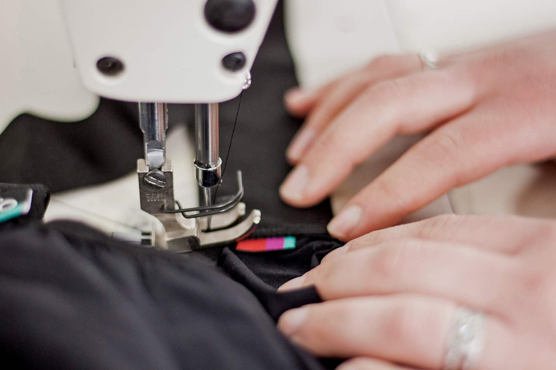 Velocio, Apidura, What Happened Outdoors cycling kit repair service, Repair Don't Replace,sewing machine