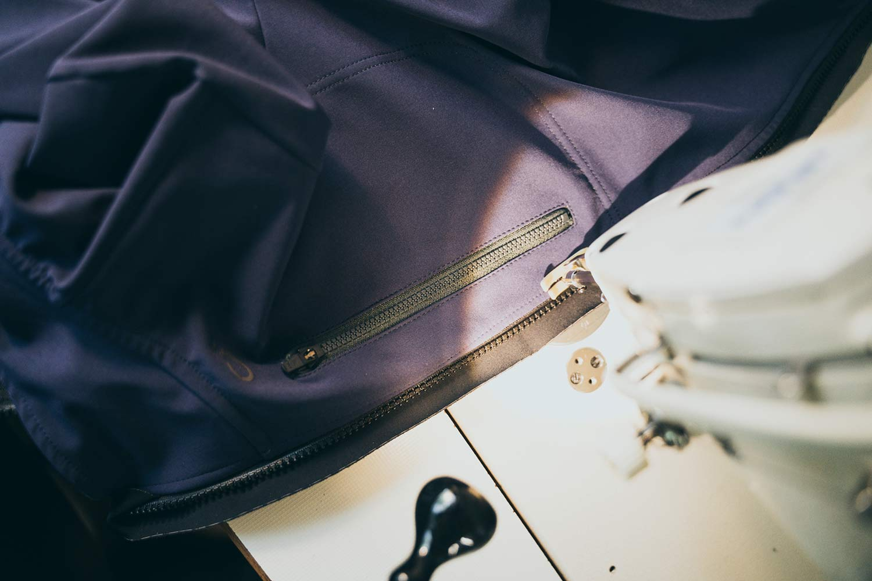 Velocio, Apidura, What Happened Outdoors cycling kit repair service, Repair Don't Replace,Neza zipper replacement