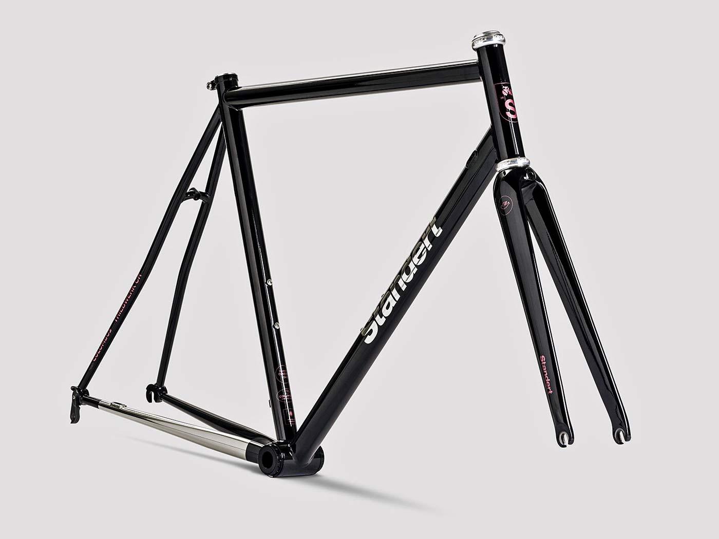 Standert Triebwerk CR classic lightweight steel rim brake road bike, frameset