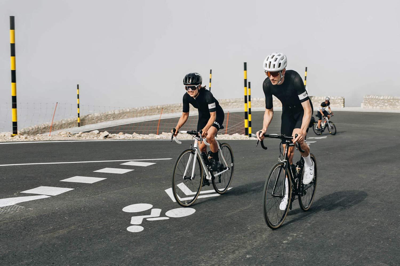 Standert Triebwerk CR classic lightweight steel rim brake road bike, photo by Savannah van der Niet,Mont Ventoux climb