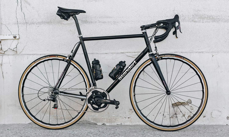 Standert Triebwerk CR classic lightweight steel rim brake road bike, photo by Savannah van der Niet,complete