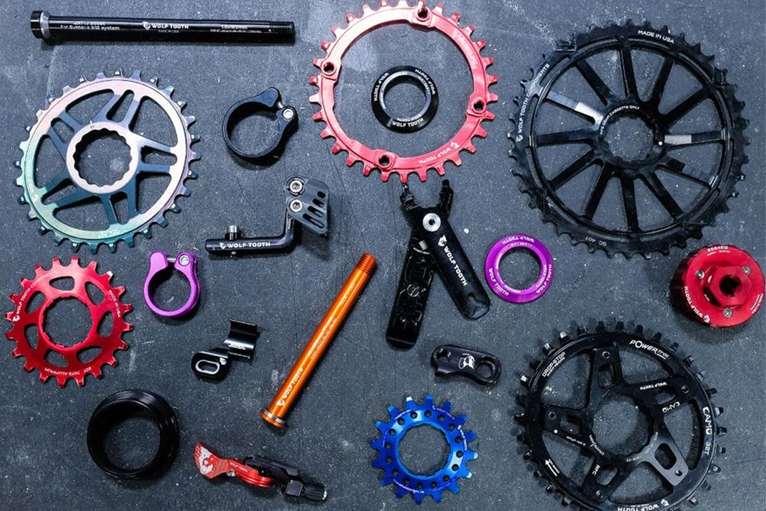 Available Now: Atlas Frames, Silca Multi-tool, Wolf Tooth Components, more