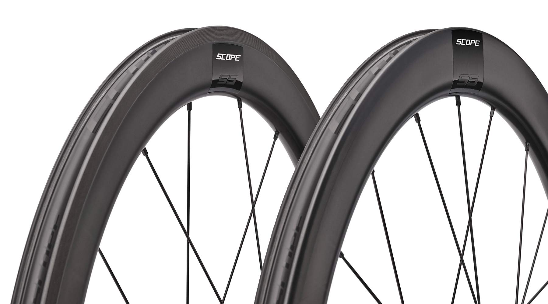 Scope Sport affordable carbon tubeless road wheels, 998€ for rim or disc brakes