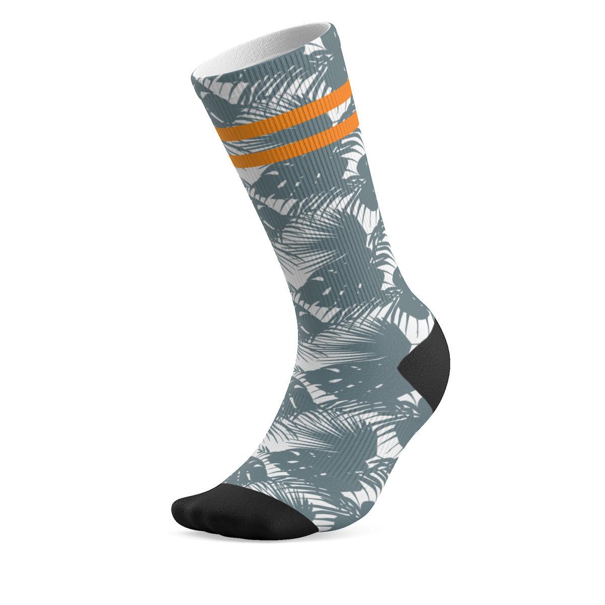Defeet Hawaiian custom sock