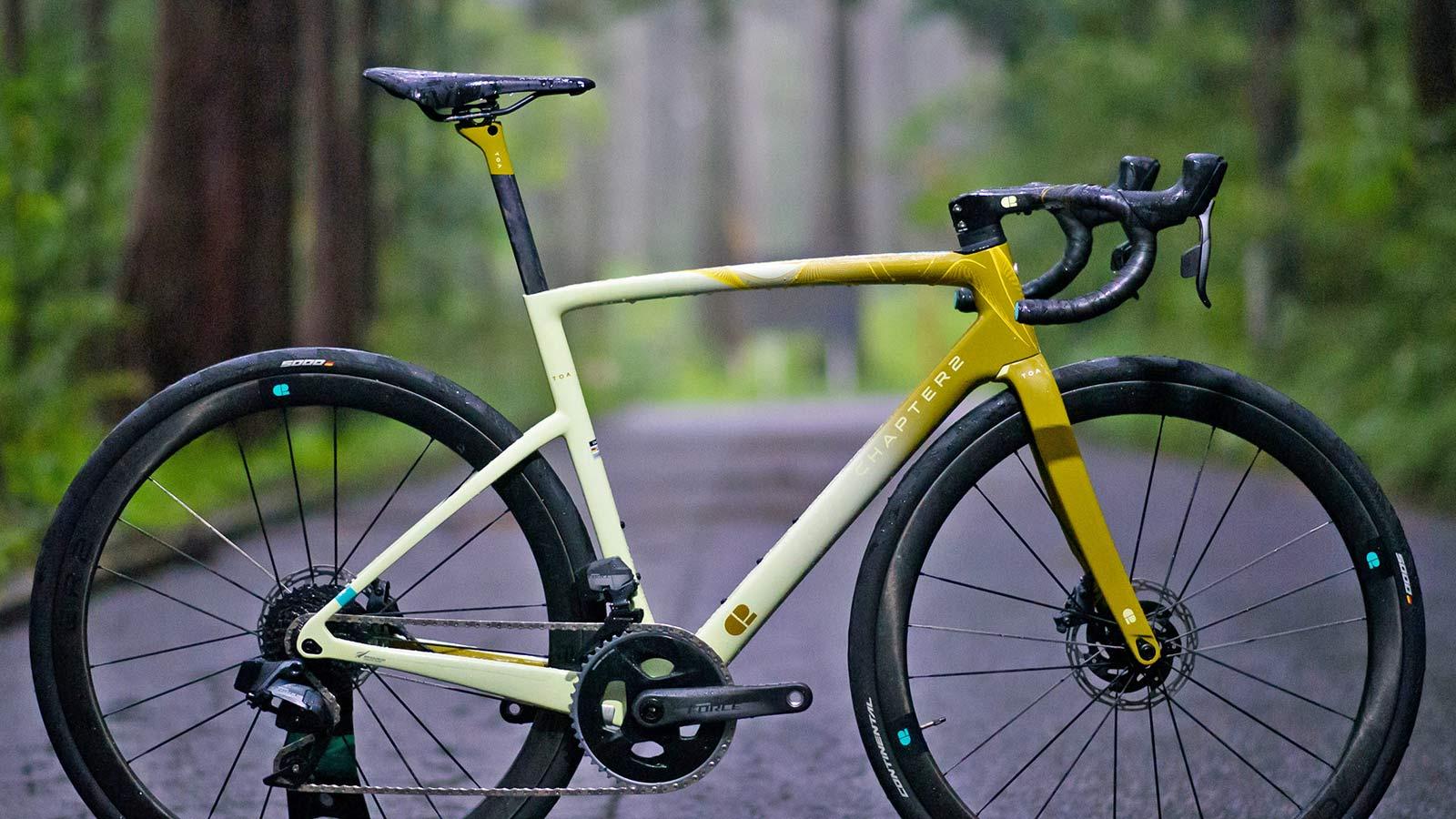 Chapter2 TOA all-road bike, fully integrated versatile aero carbon road bike,Tongariro