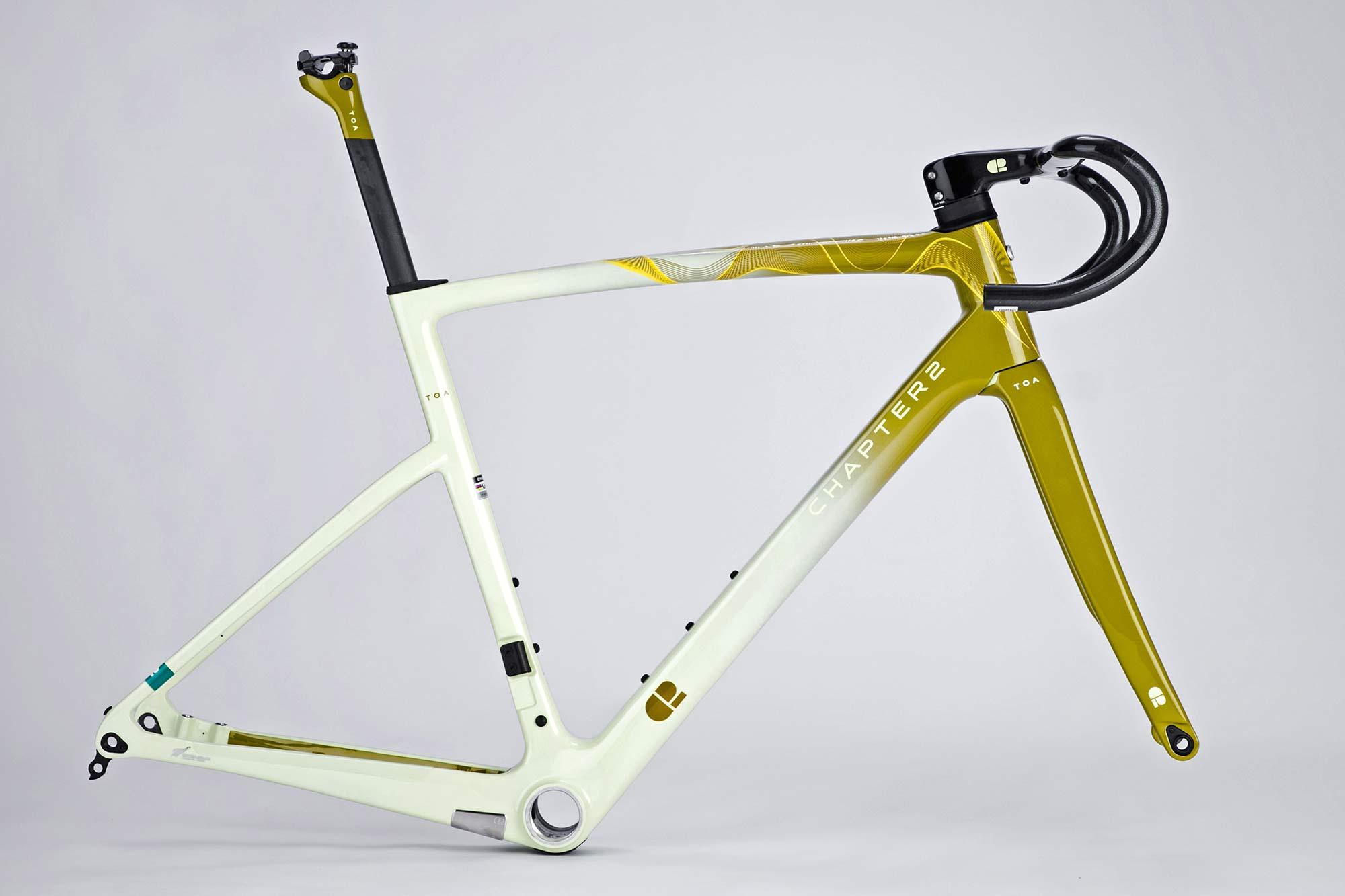 Chapter2 TOA all-road bike, fully integrated versatile aero carbon road bike,Tongariro frameset