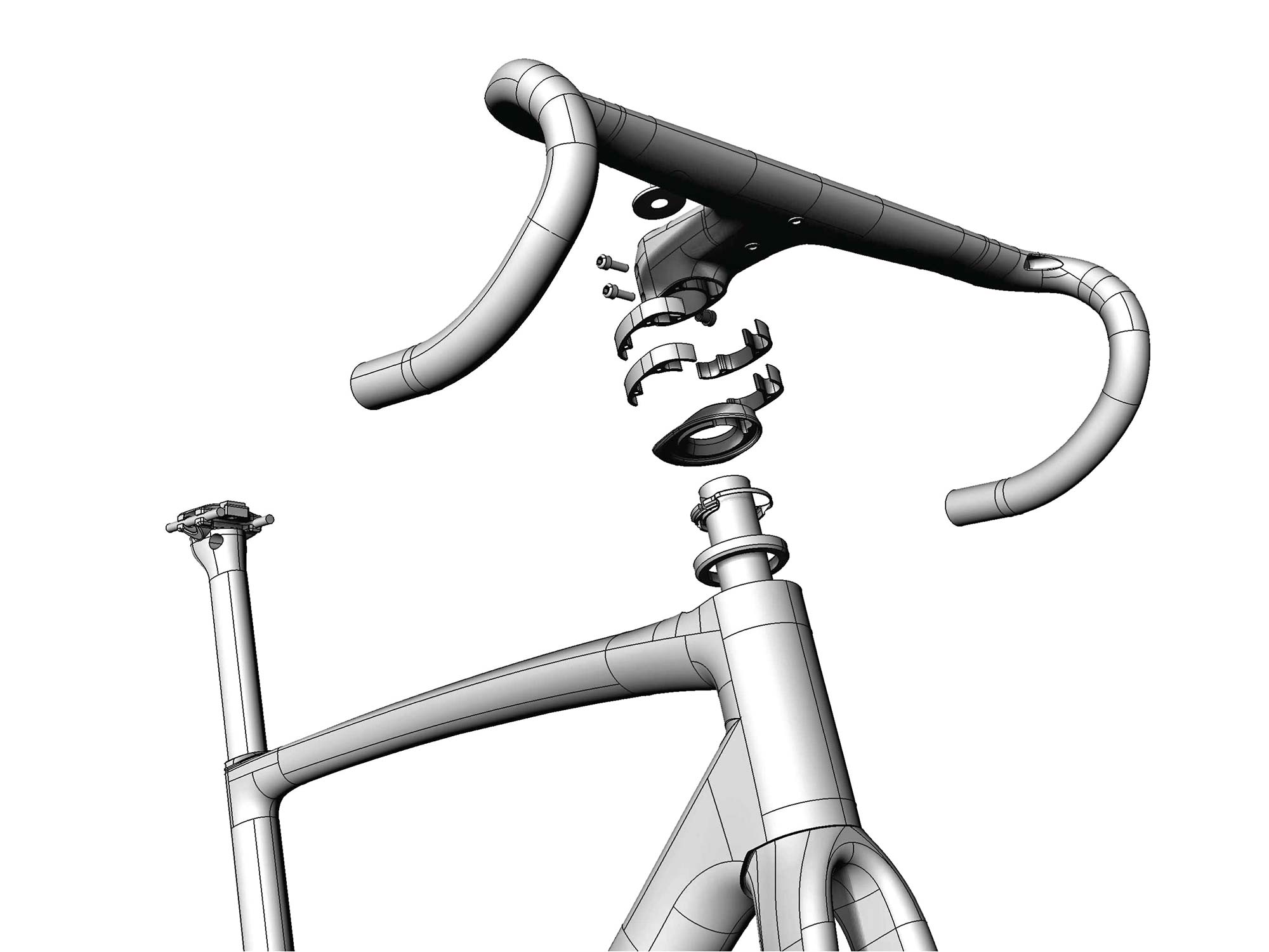 Chapter2 TOA all-road bike, fully integrated versatile aero carbon road bike, integrated MANA bar